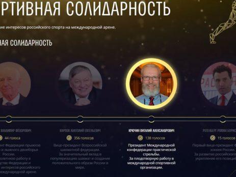 Голосуем ЗА Виталия Крючина!