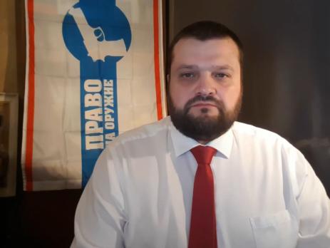 """Поздравление Председателя """"Право на оружие"""" Ванеева с новым 2020 годом."""